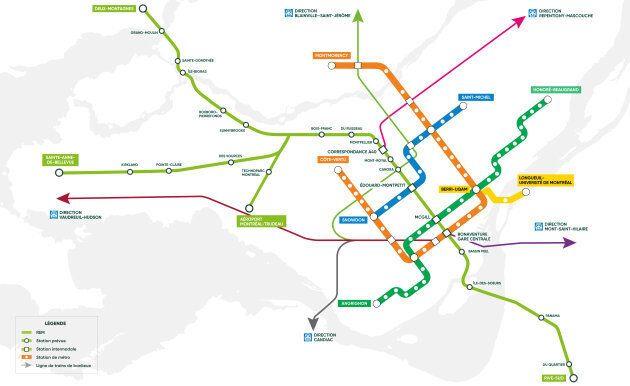 Le Réseau express métropolitain s'ajoutera bientôt à l'offre de transport en commun du Grand Montréal.