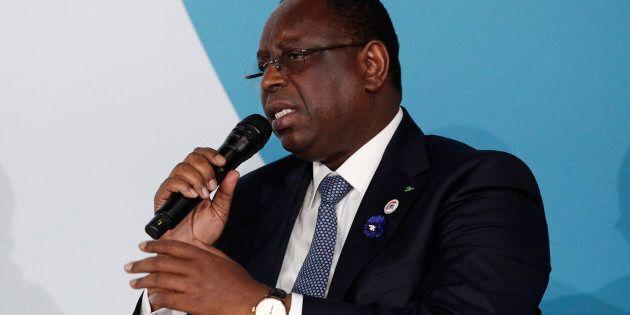 Le président du Sénégal, Macky