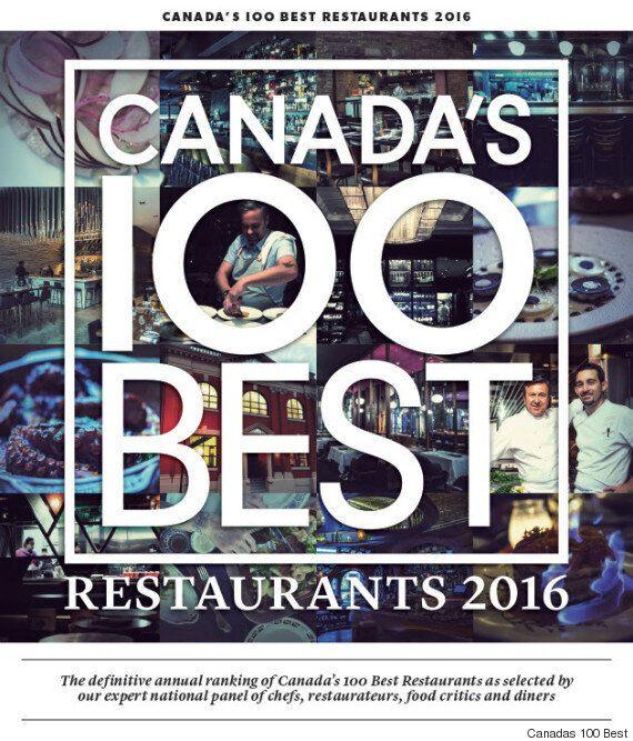 27 des 100 meilleurs restos au Canada sont