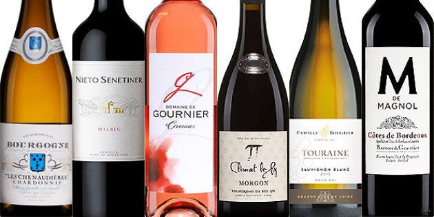 Les 6 vins recommandés cette