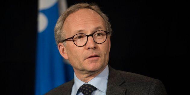 Martin Coiteux a été président du Conseil du trésor, puis ministre de la Sécurité publique et ministre...