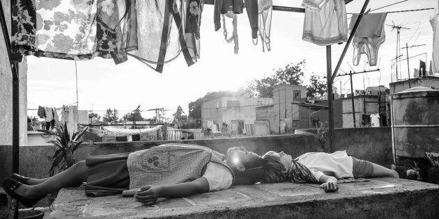 Une scène du film «Roma», qui vient d'être primé.
