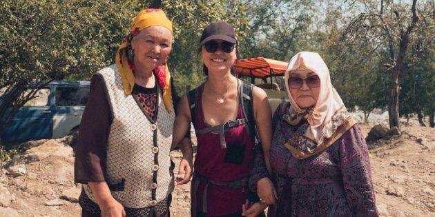 Ayant grandi au Canada, dans une famille où on a toujours beaucoup encouragé l'indépendance et valorisé la femme, voyager au Kirghizistan peut être très choquant à cet égard.
