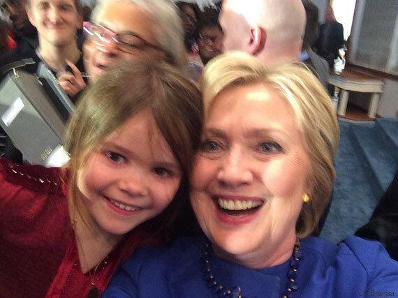 La campagne au plus près d'Hillary Clinton, vue par ma fille de 6