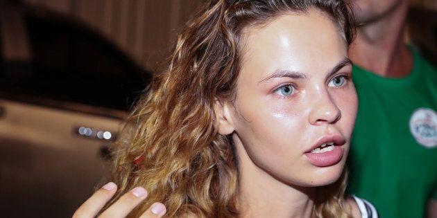 Anastasia Vachoukevitch en Thaïlande le 15 janvier