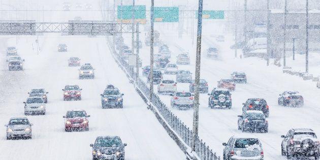Vents, neige et froid affectent le