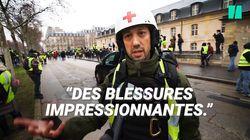 Gilets jaunes: ces «street medic» racontent les blessures qu'ils