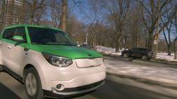 Des taxis 100 % électriques pour tous à Montréal