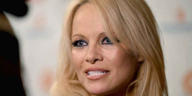 TORONTO, ON - SEPTEMBER 11: Actress Pamela Anderson attends the 5th Annual Producers Ball presented by...