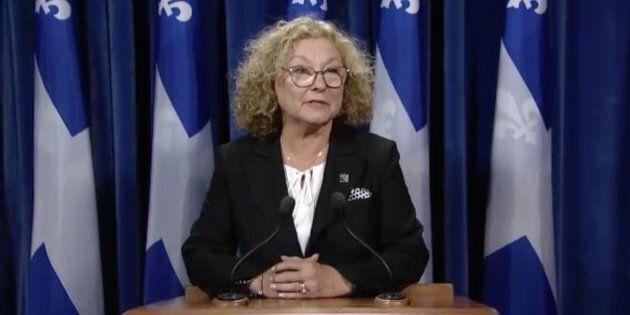 La ministre Marguerite Blais reste prudente en attendant les conclusions de l'enquête du coroner, mais...
