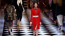 Milan: princesses d'hier et d'aujourd'hui chez Dolce &