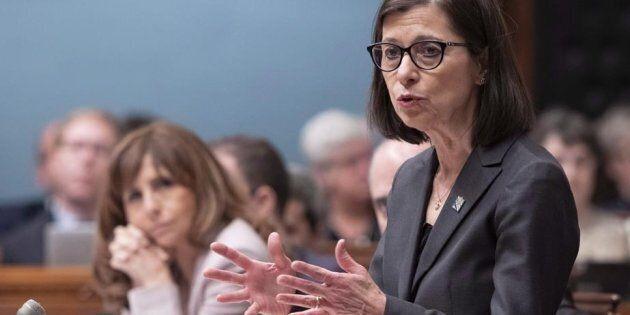 La ministre de la Santé, Danielle