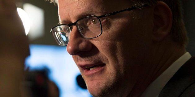 Le porte-parole du Parti québécois en matière d'environnement, Sylvain