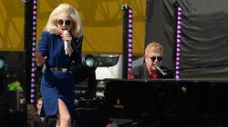 Concert surprise d'Elton John et Lady