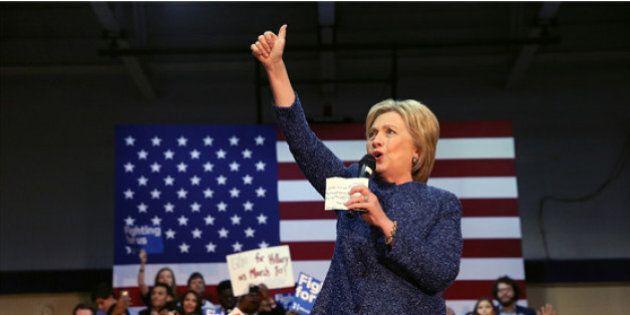 Hillary Clinton remporte la primaire démocrate en Caroline du