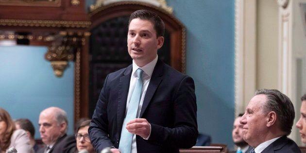 Simon Jolin-Barrette, ministre de l'Immigration, de la Diversité et de l'Inclusion, estime que ce projet...