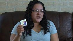 Une Autochtone dénonce le message d'un autocollant reçu à