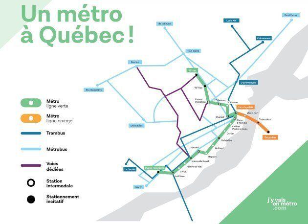 Un métro à Québec: une vraie bonne