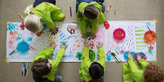 Pour certains élèves, la fréquentation du service de garde est ce qui leur a permis de développer le...