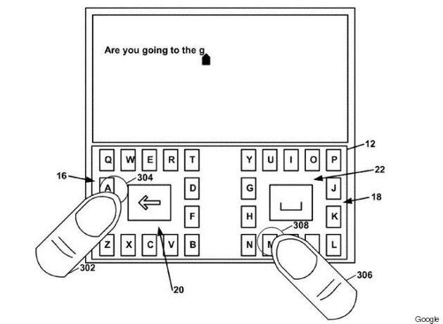 Le nouveau clavier pour téléphone intelligent imaginé par