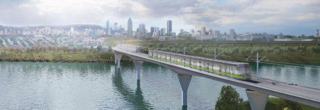 Le futur Réseau express métropolitain (REM) reliera le centre-ville de Montréal à la Rive-Sud, à la Rive-Nord,...
