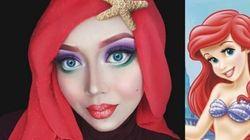 Les transformations de cette artiste en princesses Disney sont