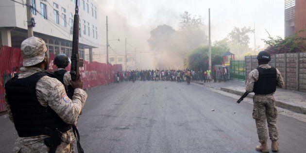 Des manifestations violentes ont cours depuis plusieurs jours en