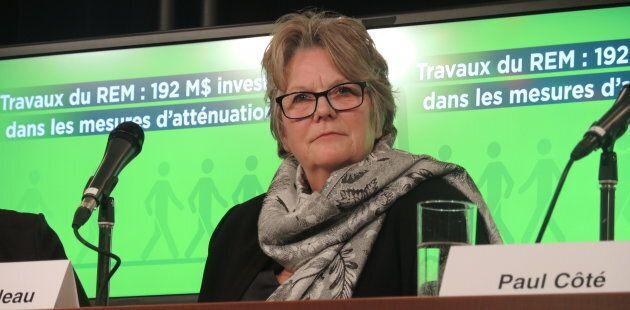 Chantal Rouleau, ministre déléguée aux Transports.