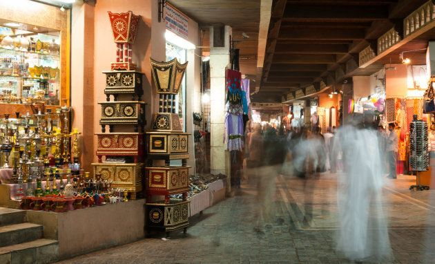 Un souk à Mascate, à Oman.