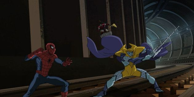 MARVEL'S ULTIMATE SPIDER-MAN: WEB-WARRIORS - 'Contest of Champions: Part Three' - Spider-Man has to change...
