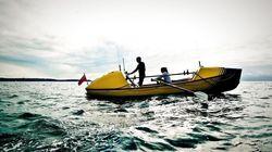 Un père et sa fille ont traversé l'océan Atlantique à la