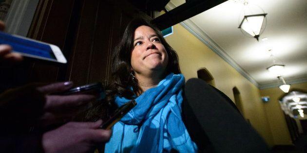 Pour une deuxième journée de suite, Jody Wilson-Raybould a répondu à quelques questions des journalistes...