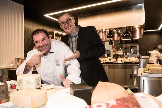 Jérôme Ferrer et René Richard