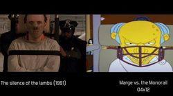 Des scènes des «Simpsons» et celles qui les ont