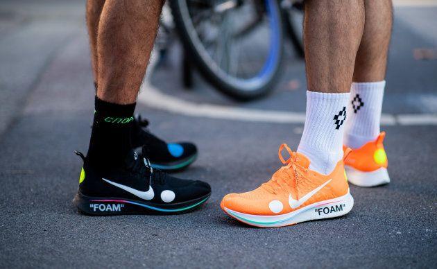 Nike dans la tourmente après qu'une chaussure ait explosé en plein