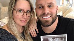 Étienne Boulay et sa conjointe révèlent le sexe de leur futur