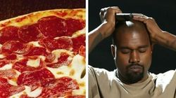 Pizza Hut propose un job à Kanye West, endetté de 53