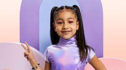 À 5 ans, la fille de Kim Kardashian fait sa 1re
