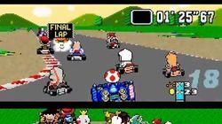 Il met plus de cent concurrents au départ de Mario Kart