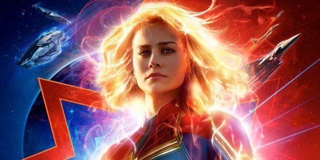 Voici la Capitaine Marvel, une héroïne surpuissante qui combat le mal