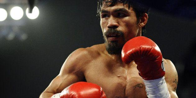Nike coupe ses liens avec le boxeur Manny Pacquiao après des propos