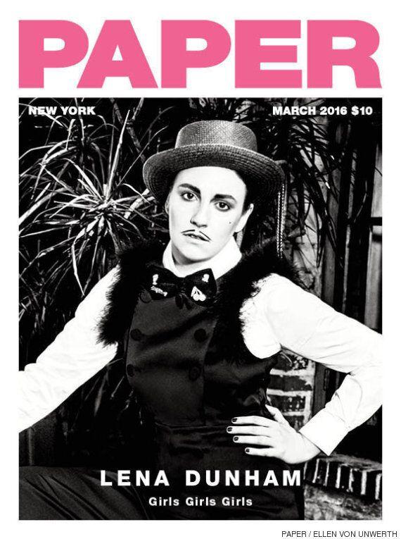 Lena Dunham révèle tout à la Une du magazine Paper