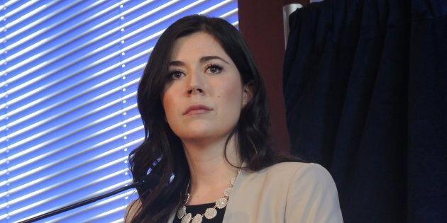 Catherine Fournier, députée provinciale de Marie-Victorin, à Longueuil, a annoncé quitter le Parti québécois...
