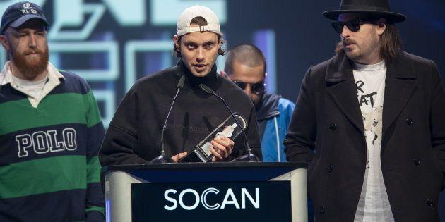 Loud a remporté le prix de l'album francophone de