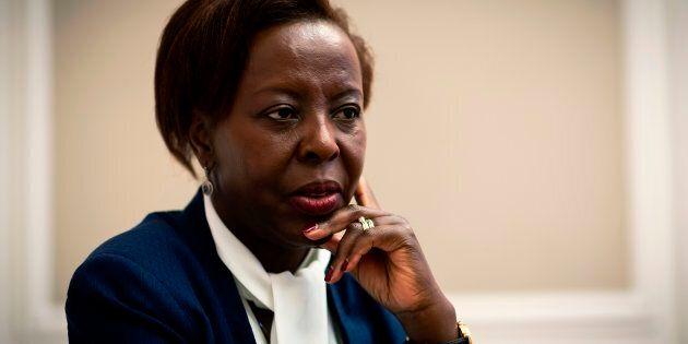 La présidente de l'Organisation internationale de la Francophonie, Louise