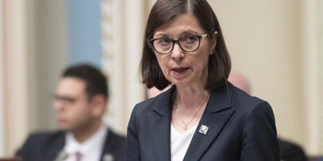 Assurance-médicaments: la ministre Danielle McCann met Ottawa en