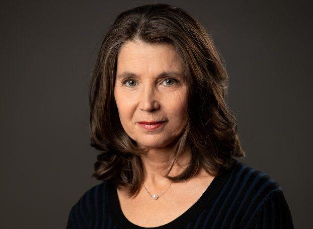 Lise Vadnais, soeur de Christiane Vadnais et auteure du livre «Attention, chien