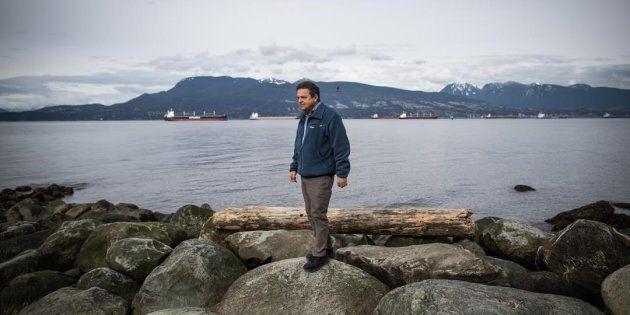 Andrew Trites, directeur de l'unité des mammifères marins de l'Université de Colombie-Britannique, se...