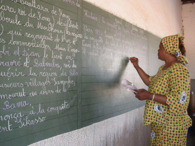 Burkina Faso, enseignante (Sonia Li)