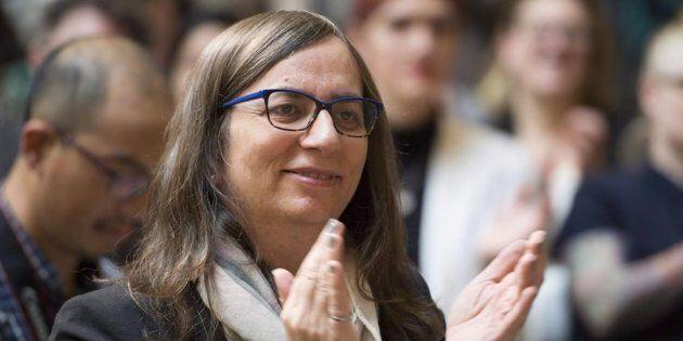 Morgane Oger, fondatrice de la fondation du même nom qui veut bâtir l'Atlas canadien de l'extrémisme